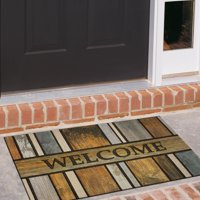 "Mohawk Welcome Homestead Planks Doorscapes Recycled Rubber Doormat 23"" x 35"""