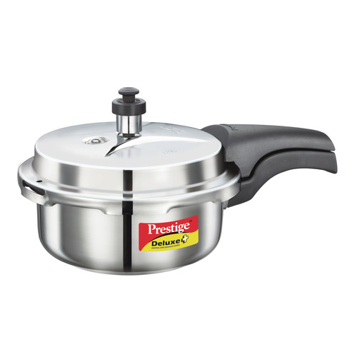 Prestige Cookers Deluxe 2.11-Quart Stainless Steel Pressure Cooker