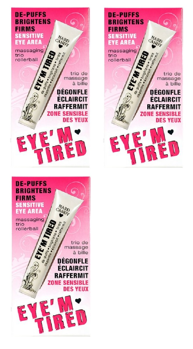 Hard Candy Eyem Tired, Lightweight Depuffing Eye Serum. 0.59 Oz (Pack of 4) WALFRONT 7Pcs Facial Skin Care Acne Pimple Comedone Needle Blackhead Blemish Extractor Removal , Blackhead Extractor Needle, Pimple Remover Needle
