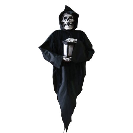 Door Reaper Halloween Decoration](Do It Yourself Halloween Door Decorations)