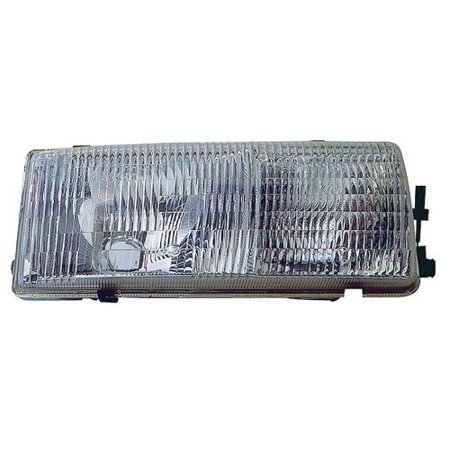 Go-Parts » 1991 - 1996 Chevrolet Caprice Front Headlight Headlamp Assembly  Front Housing / Lens / Cover - Left (Driver) Side - (RWD) 16519235