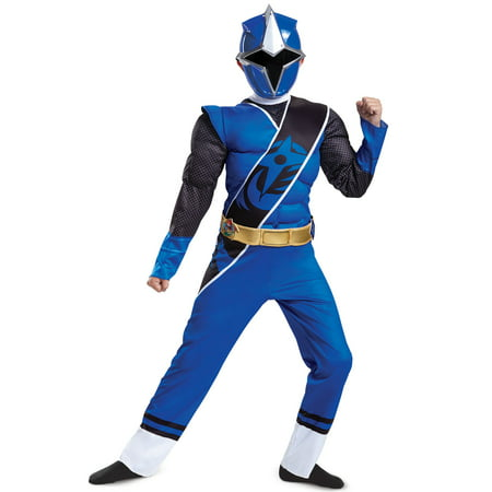 Blue Ranger Ninja Steel Muscle Child Costume](Mighty Morphin Power Rangers Ninja Costumes)