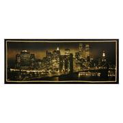 "Oriental Furniture New York Skyline Canvas Wall Art, 15.75""H x 39.5""W"