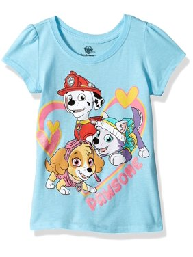 Girl's Toddler Paw Patrol Pawsome T-Shirt