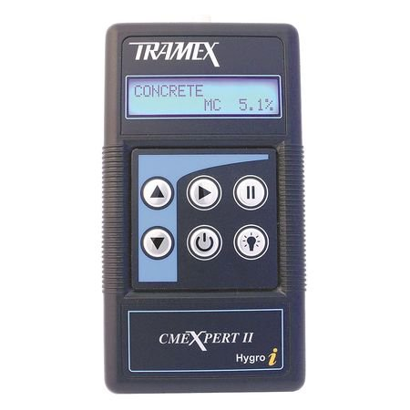 TRAMEX CMEX2 Moisture Meter,For Concrete/Wood,Digital