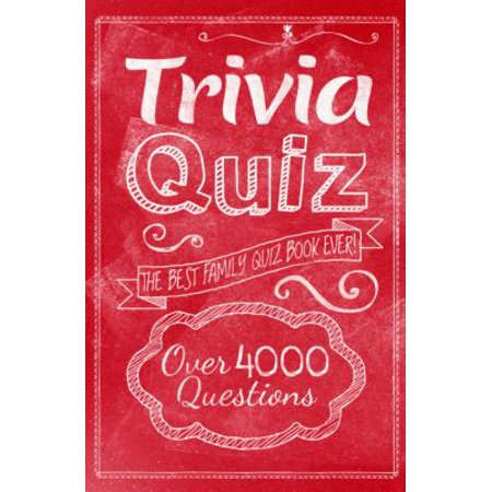 Trivia Quiz : The Best Family Quiz Book Ever!](Trivia Quiz Halloween)
