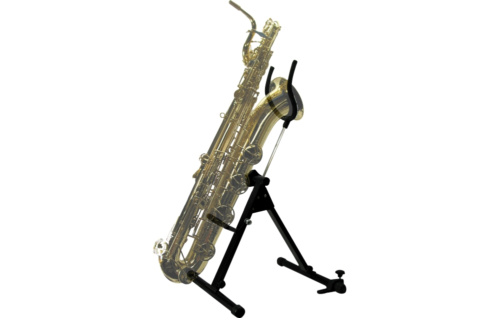Bass or Bari Saxophone Stand by Saxrax by International Woodwind