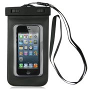 Importer520 Black PX8 Certified to 100 Feet Universal Waterproof Snowproof Cover Case For Samsung Galaxy S3 Mini i8190