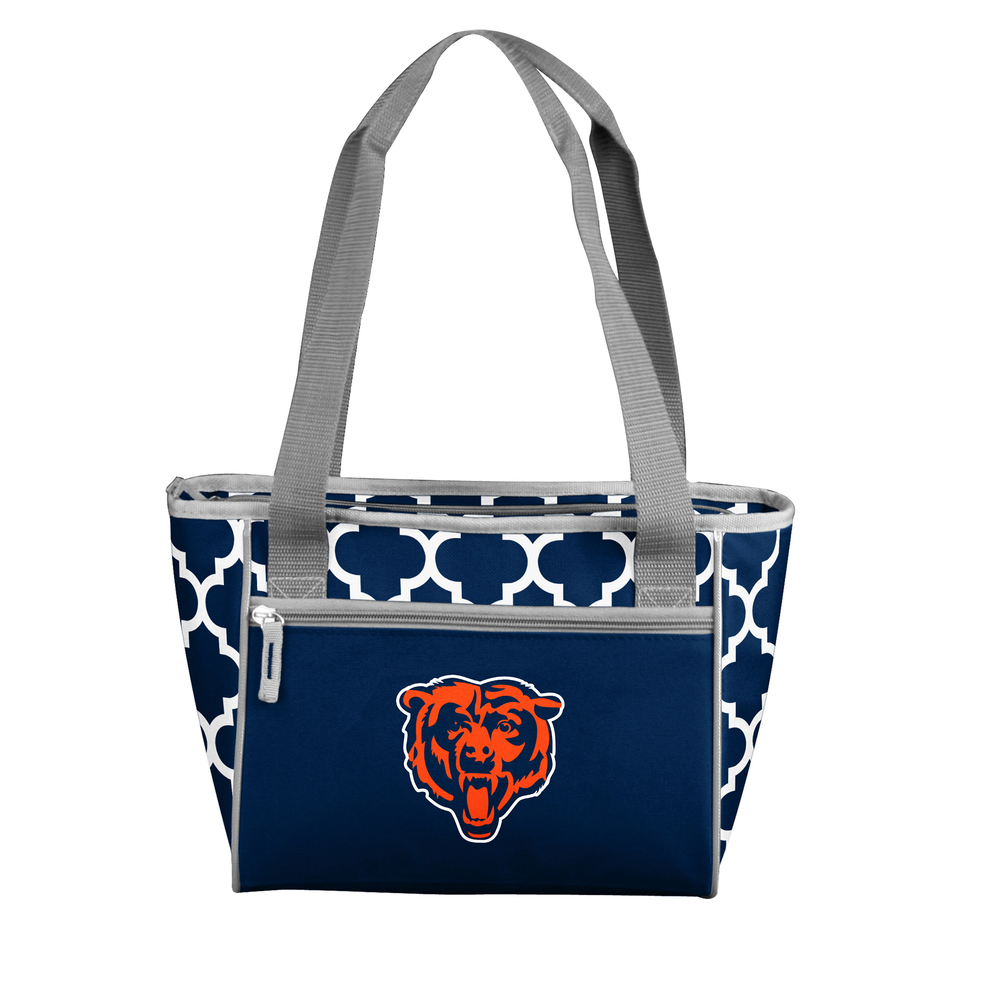 Chicago Bears Quatrefoil 16-Can Cooler Tote - No Size