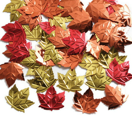 Maple Leaf Confetti, 1 pack for $<!---->