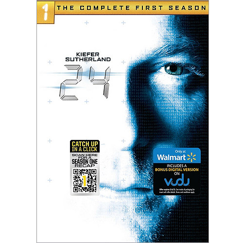 Image of 24: Season One (DVD + VUDU Digital Copy) (Walmart Exclusive)