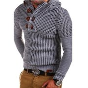 Men Autumn Winter Warm Sweater Casual Knit Pullovers