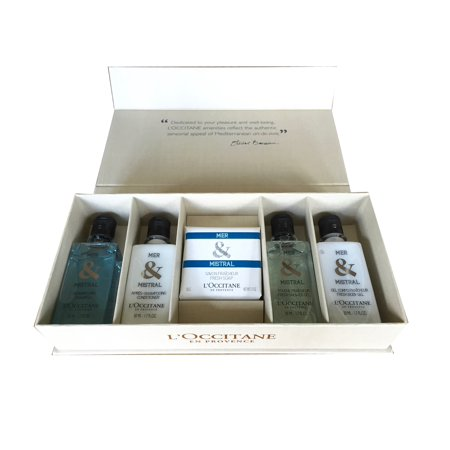 LOccitane Mer Mistral Boxed Toiletry Gift Set Travel Collection