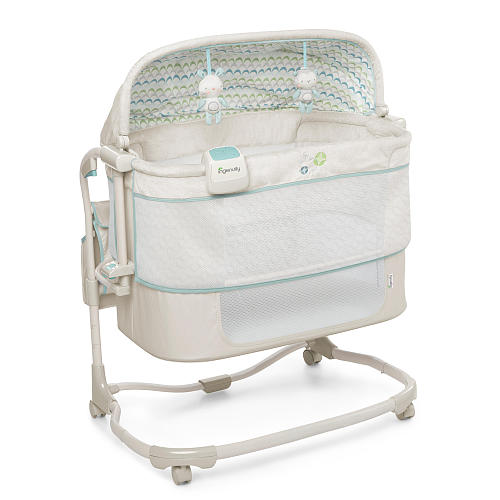 Ingenuity Dream and Grow Bedside Bassinet Deluxe by InGenuity