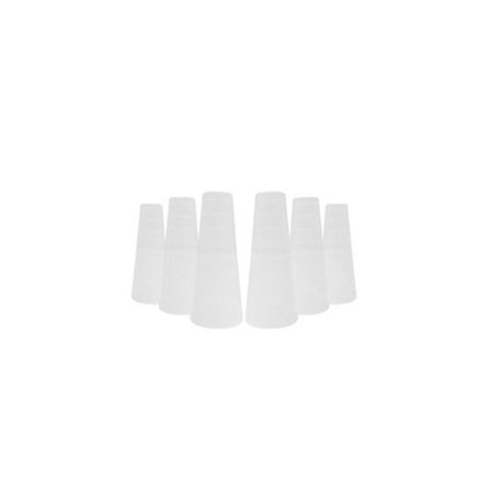 (VAPOR HOOKAHS WIDE PLASTIC MOUTHPIECES: 100pc HOOKAH SUPPLIES – Narguile Pipe Accessory parts that promote sanitary hose sharing when using hookahs. These Shisha Pipe Accessories are disposable.)