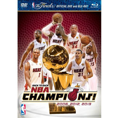 2013 NBA Champions: Miami Heat (Blu-ray + DVD)