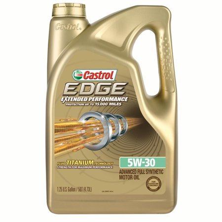 castrol edge extended performance 5w 30 full synthetic motor oil 5 qt. Black Bedroom Furniture Sets. Home Design Ideas