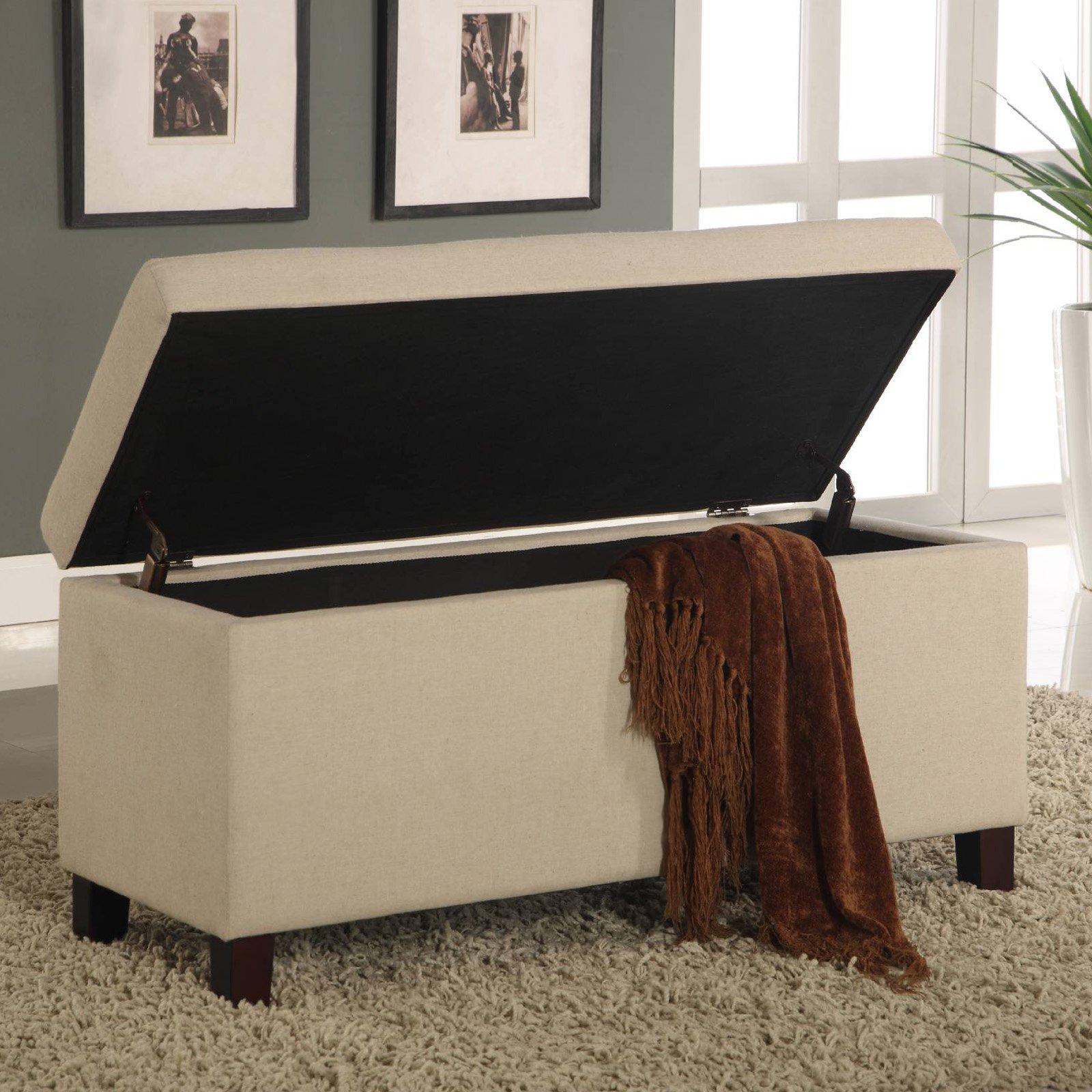 Modus Furniture Urban Seating Bedroom Storage Ottoman