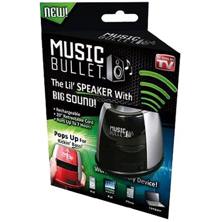 As Seen on TV Music Bullet - Mini Portable Speaker (Colors Vary)