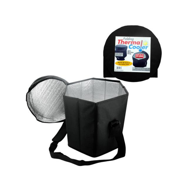 Bulk Buys OC648-4 Folding Thermal Cooler With Shoulder Strap
