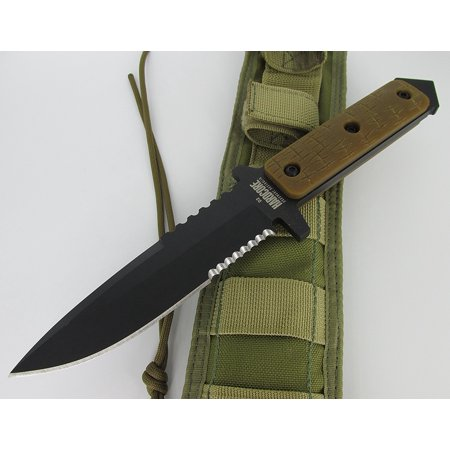 Hardcore Hardware Australia Generation 1 Mfk04 G Survival Knife Coyote G 10 Khaki Cordura Sheath