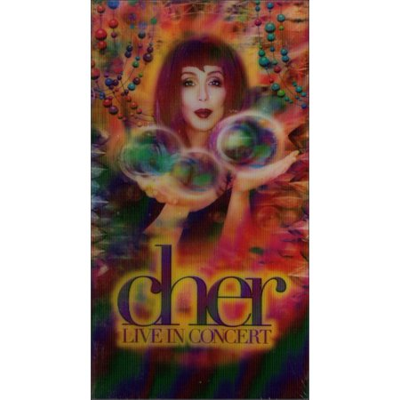 Cher - Live In Concert Vintage HBO Music VHS Tape - Vhs Tape Costume