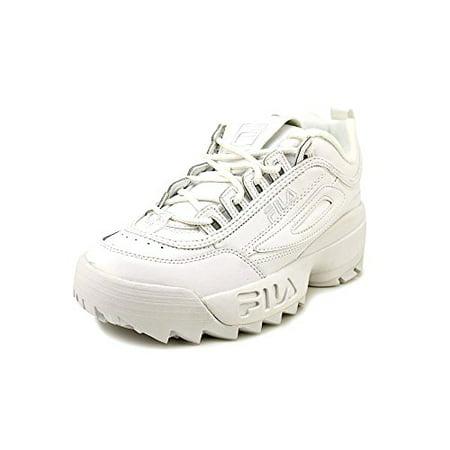 31a8a1be8c28 Fila Kids' Disruptor II Sneaker, Triple White, 7 M US Big Kid - Walmart.com