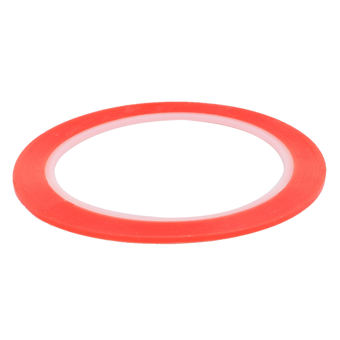 0.2mmx3mm 10M Length Sponge Tape Double Side Strong Adhesive Dustproof Red Clear - image 1 of 3