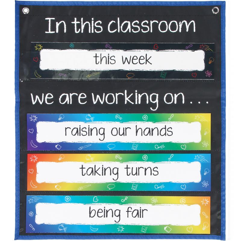 In This Classroom Space-Saver Pocket Chart™