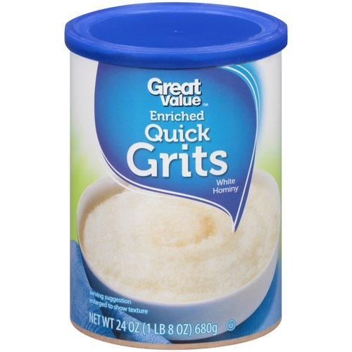 Great Value Enriched Quick Grits, 24 oz
