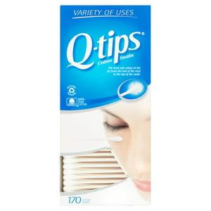 Q-Tips Cotton Swabs, 170 count
