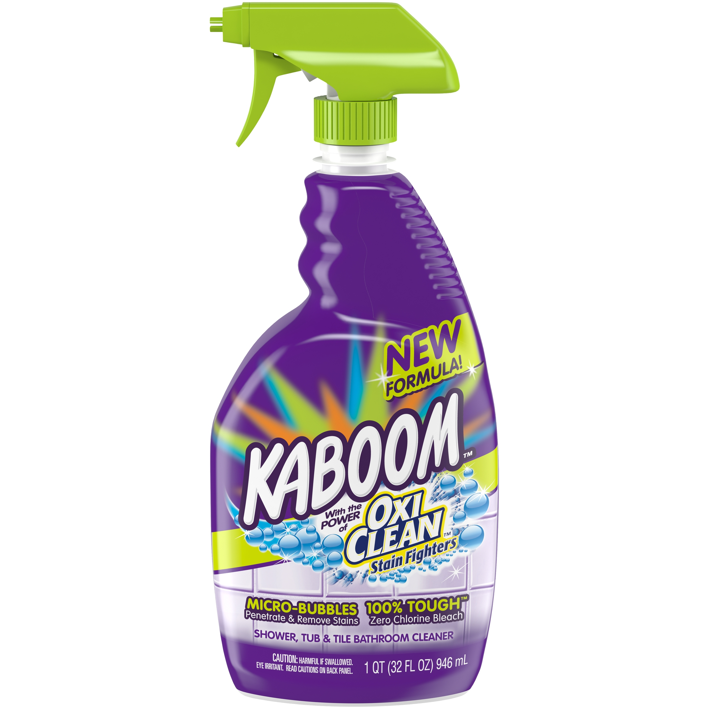 Bon Kaboom™ OxiClean™ Stain Fighters Shower, Tub, U0026 Tile Bathroom Cleaner 32 Fl