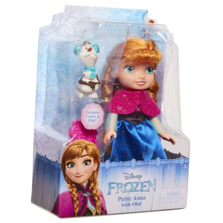 Best Disney Frozen Petite Anna Doll with Olaf deal