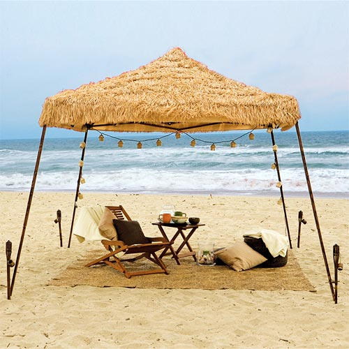 Quik Shade Tiki 10x10 Instant Canopy & Quik Shade Tiki 10x10 Instant Canopy - Walmart.com