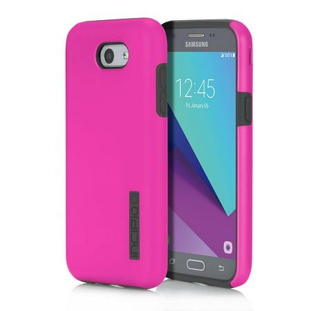 best sneakers 2fad8 ee87c Incipio DualPro Case for Samsung Galaxy J3 Smartphone - Pink / Gray