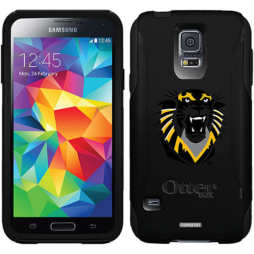 Fort Hays State Primary Mark Design on OtterBox Commuter Series Case for Samsung Galaxy S5