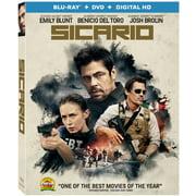 Sicario (Blu-ray + DVD)