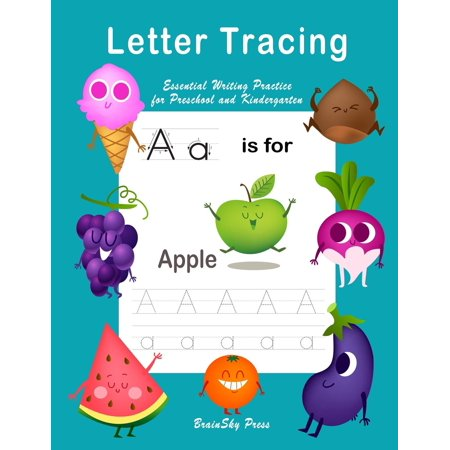 Handwriting Workbook: Letter Tracing: Essential Writing Practice for Preschool and Kindergarten, Ages 3-5, A to Z Cute Illustrations (Handwriting Workbook) (Paperback)