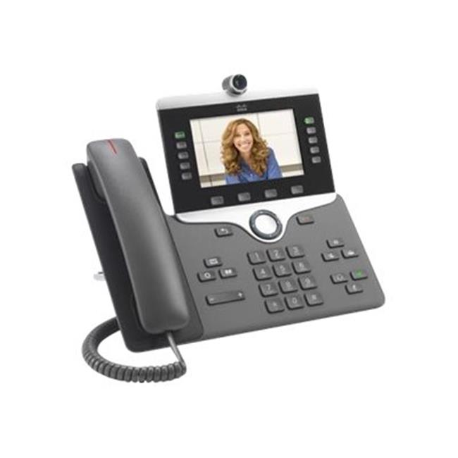 Cisco CP-8845-K9 IP Phone 8845 - IP Video Phone - Digital Camera, Bluetooth Interface