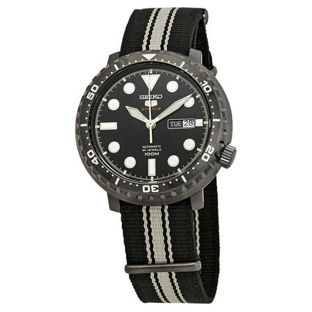 5 Sports Automatic Black Dial (Seiko 5 Sport Automatic Black Dial Men's Watch)