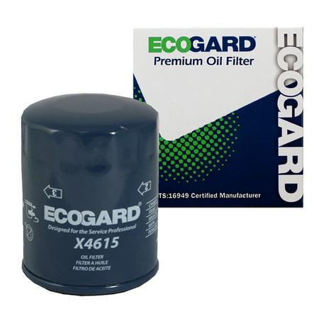 ECOGARD X4615 Spin-On Engine Oil Filter for Conventional Oil - Premium Replacement Fits Subaru Forester, Outback, Impreza, Legacy, XV Crosstrek, Crosstrek, BRZ, WRX STI, WRX, Baja / Scion