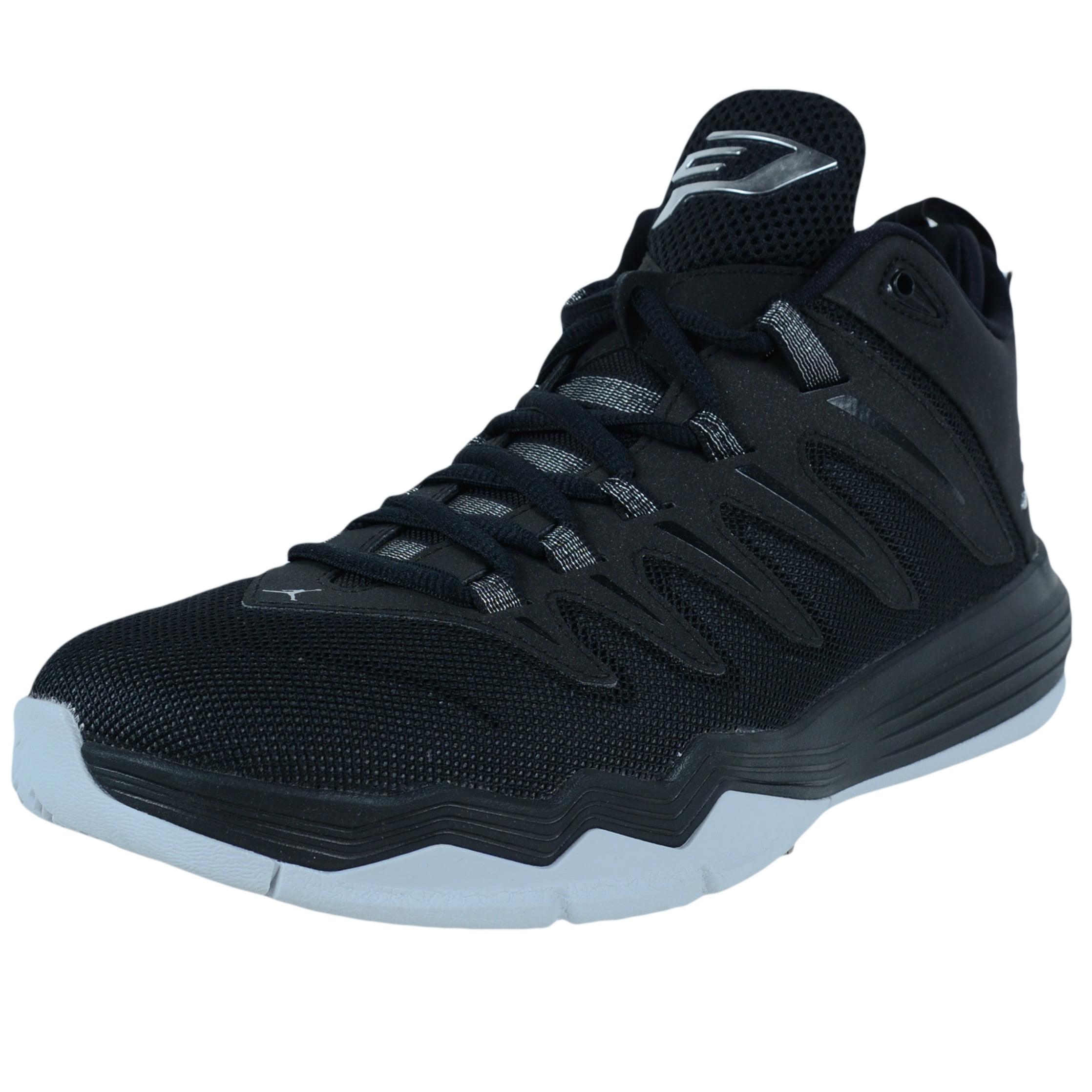 Nike JORDAN CP3.IX BASKETBALL SHOES BLACK METALLIC SILVER...