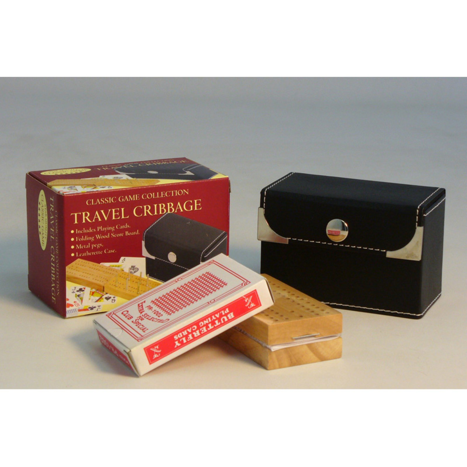 Classic Games Collection Travel Cribbage