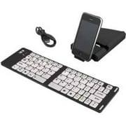 IWERKZ 44652BW Universal Foldable Bluetooth(R) Keyboard (Black)
