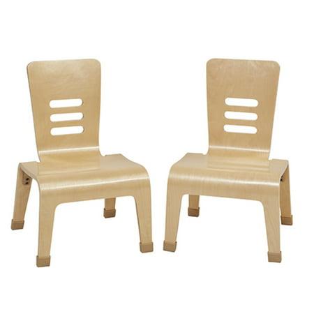12in Bentwood Teacher Chair - -