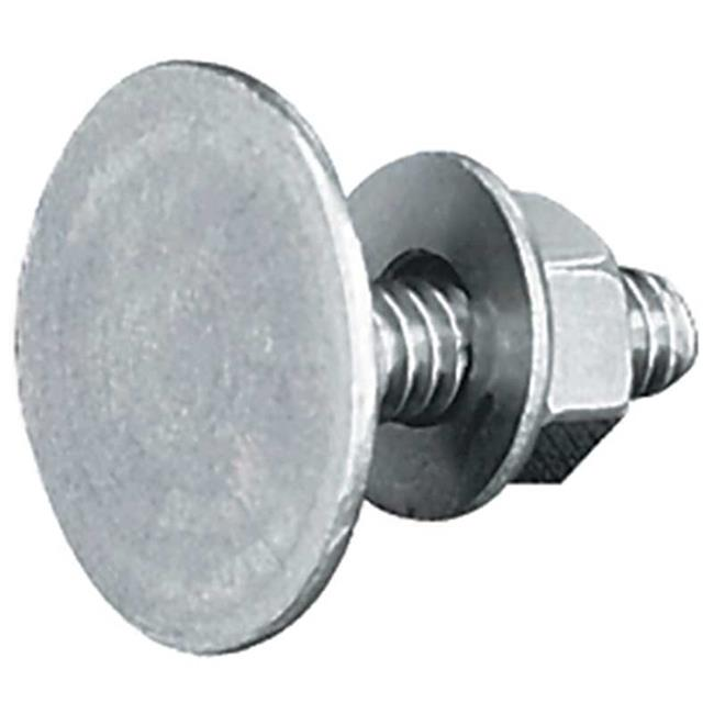 TekSupply FA3156 0.25 x 2 in. Elevator Bolts Only Zinc Plated by TekSupply