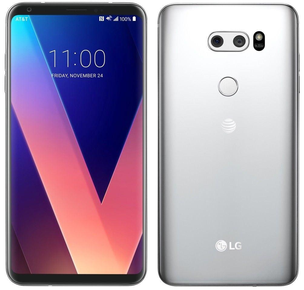 LG V30 H931 - 64GB - Cloud Silver AT&T + GSM UNLOCKED Smartphone refurbished