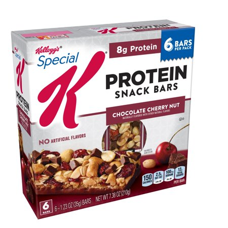 Kellogg's Special K Protein Snack Bar, Chocolate Cherry Nut 7.38 oz 6