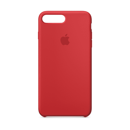 new concept 7b52d 3d5a4 Apple Silicone Case for iPhone 8 Plus & iPhone 7 Plus - (PRODUCT) Red