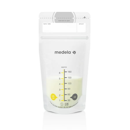 - Medela Breast Milk Storage Bags - 6oz/180ml, 100 count